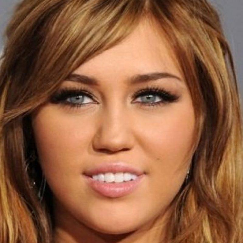 """Tu peor pesadilla: Miley Cyrus cuando era """"buena"""". No imaginamos la figura de cera de su estado actual. Foto:Getty Images"""