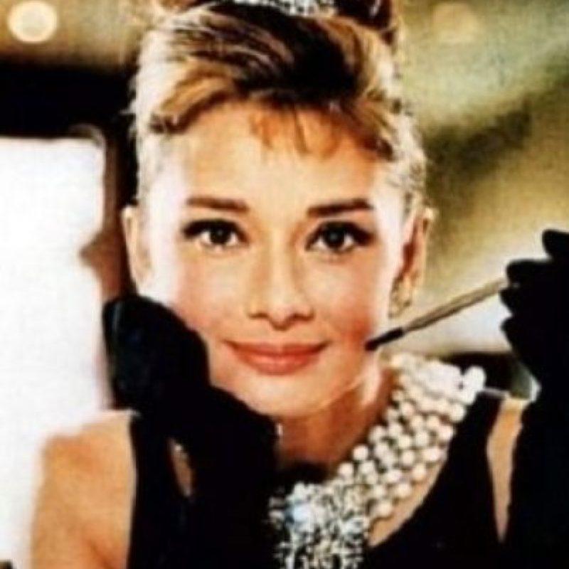 """Menos cuando era imagen de la frescura en """"Desayuno con Diamantes"""" Foto:Paramount Pictures"""