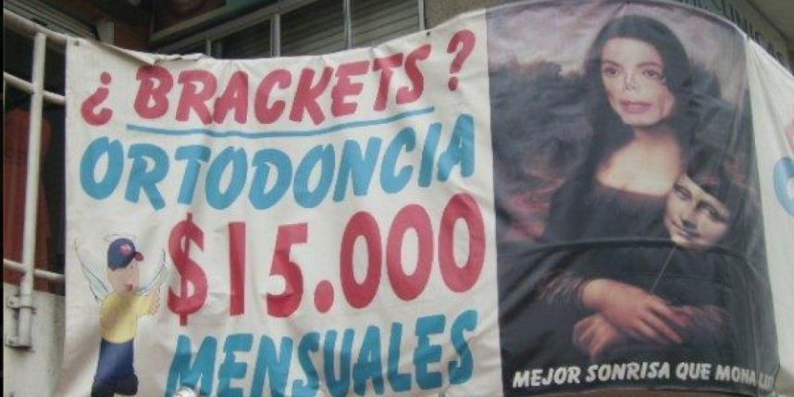 Michael Jackson …¿qué tienes que ver con la Monalisa? Foto:Colombianadas