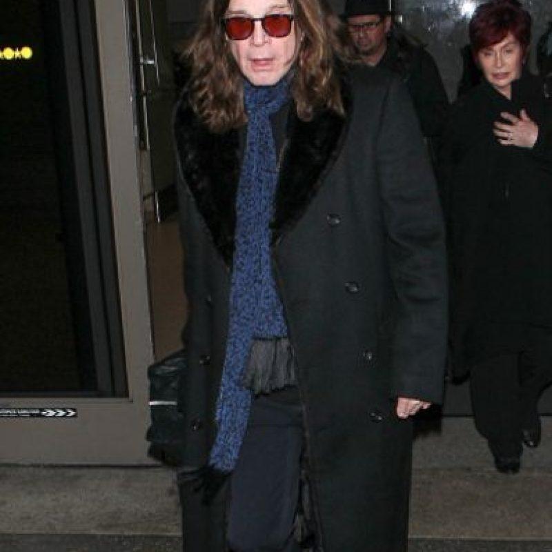 Ozzy Osbourne tuvo un accidente en 2003 que lo dejó en coma por cuatro días Foto:Getty Images