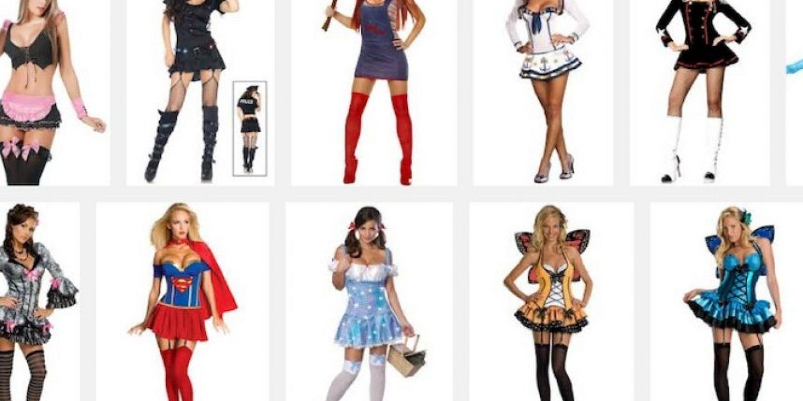 """En Halloween se disfrazan de """"sexy algo"""" Foto:Google"""