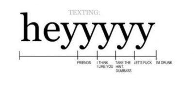 """Para cada nivel de """"conocido"""" es diferente la cosa cuando están en WhatsApp o Facebook Foto:Tumblr"""