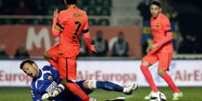 El cuadro azulgrana consiguió un resultado con el que ratificó su puesto como uno de los ocho mejores de la Copa. Foto:AFP