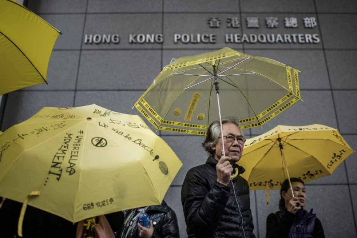 Nuevas manifestaciones del movimiento #UmbrellaRevolution Foto:AFP