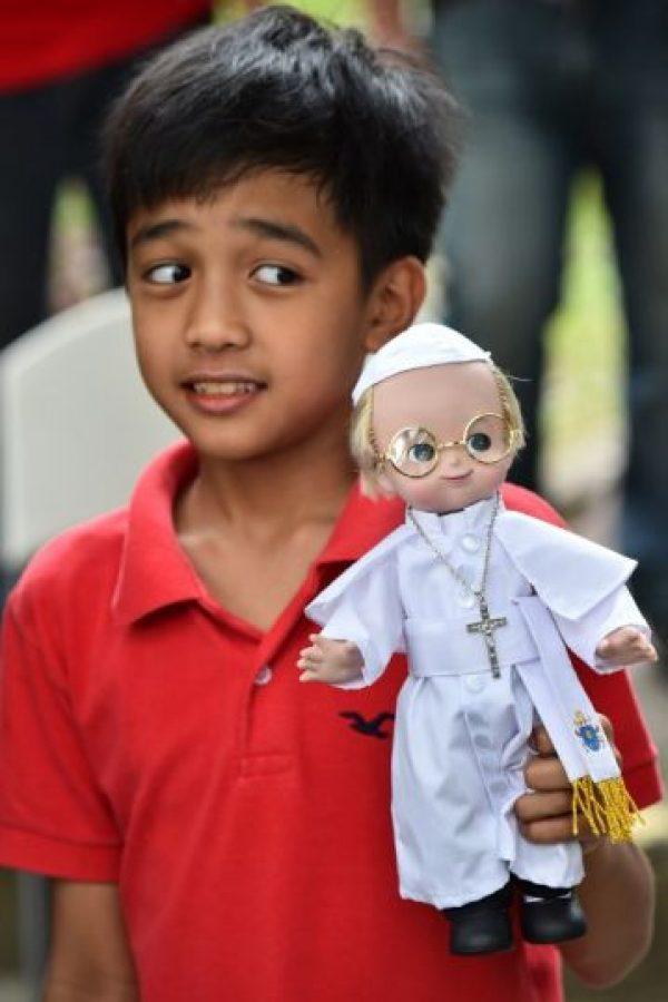 Viaje apostólico del Papa Francisco a Sri Lanka y Filipinas Foto:AFP