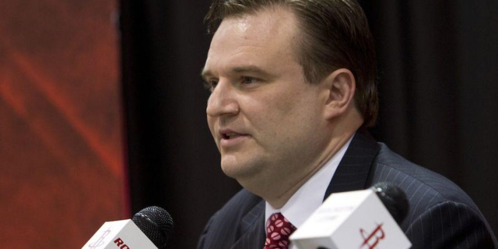 Daryl Morey, director general de los Rockets de Houston, dio una desafortunada respuesta a un aficionado. Foto:Getty Images