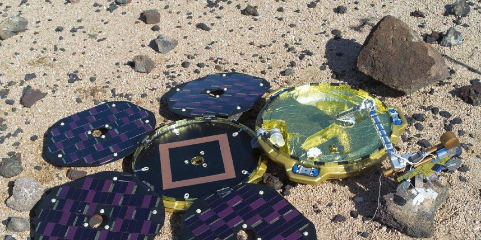 Una sonda espacial que desapareció en 2003 fue encontrada en el cuarto planeta del sistema solar mientras un satélite hacia un reconocimiento del planeta rojo Foto:Agencias