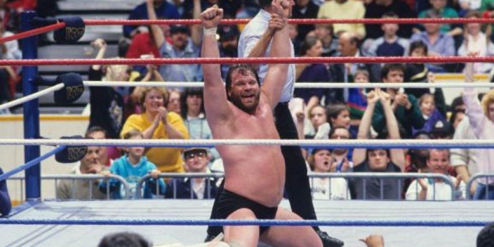 Jim Duggan fue el primer ganador, en 1988 Foto:WWE