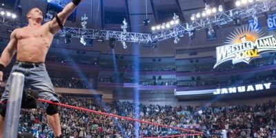 John Cena también venció en la batalla real de 2008 Foto:WWE
