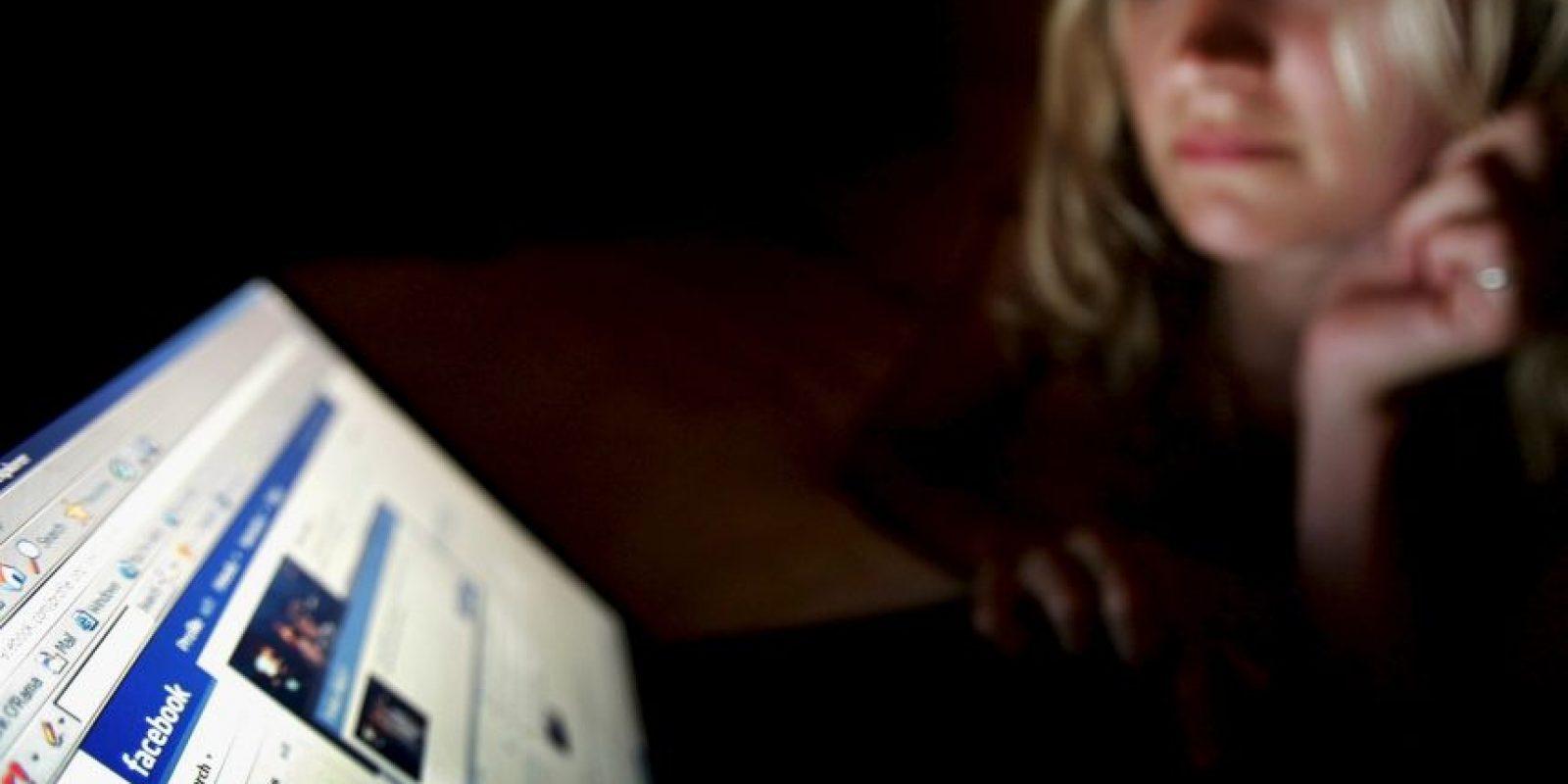 Sin embargo, es distinto cuando una mujer utiliza las redes sólo para distraerse, por ejemplo: Foto:Getty Images