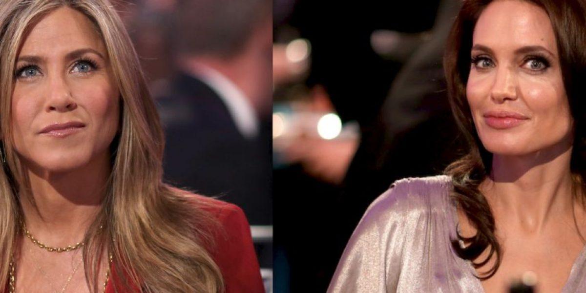 Después de 6 años, Jennifer Aniston y Angelina Jolie juntas en una foto