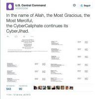 En este ataque se revelaron datos de militares Foto:Twitter