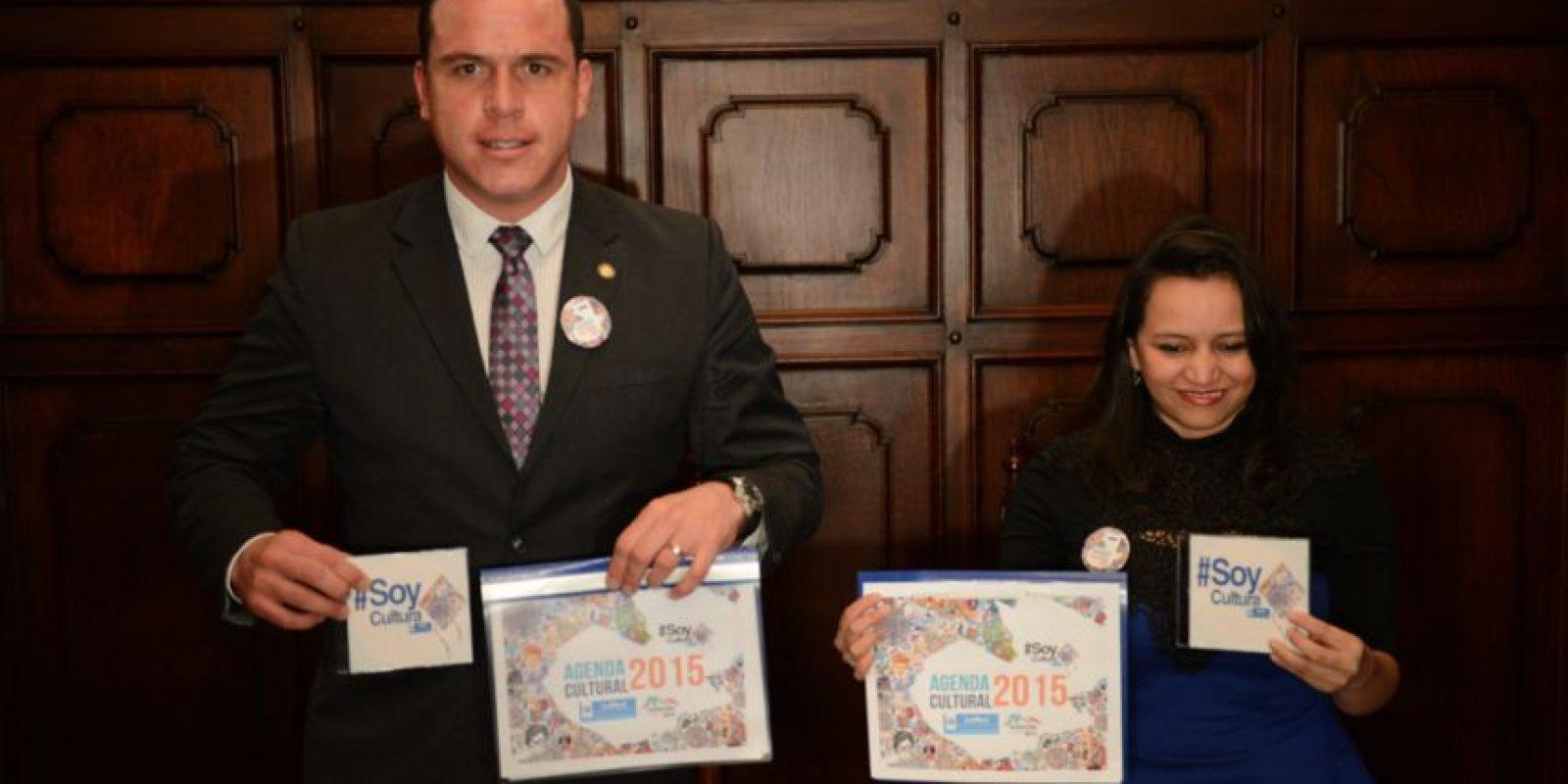 El Ministerio de Cultura y Deportes dio a conocer las actividades que se van a llevar por la celebración de Guatemala Capital Iberoamericana de la cultura 2015 Foto:Oliver de Ros