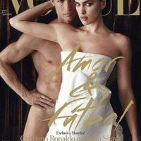 En mayo de 2014 fueron la portada de la revista Vogue luciendo muy poca ropa. Foto:instagram.com/irinashayk