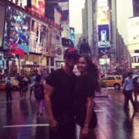 Durante su visita a Nueva York en junio de 2013. Foto:instagram.com/cristiano