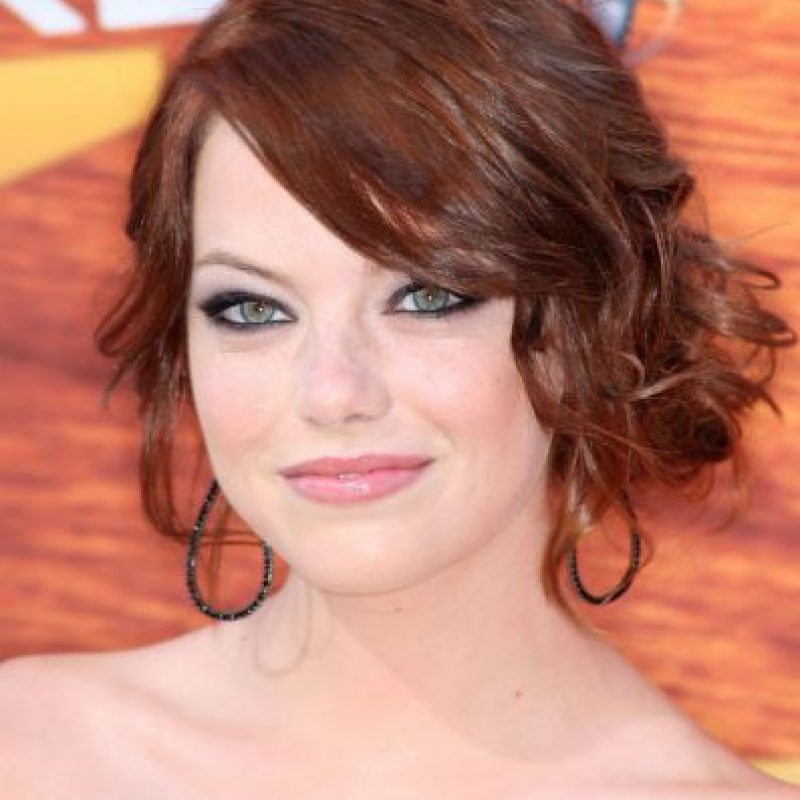 Aunque mucho tiempo utilizó el cabello pelirrojo, es rubia natural Foto:Getty Images