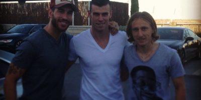 Sergio Ramos, Gareth Bale y Luka Modrić Foto:instagram.com/garethbale11