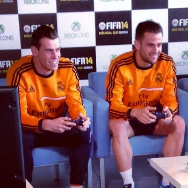 Gareth Bale jugando FIFA 14 Foto:instagram.com/garethbale11