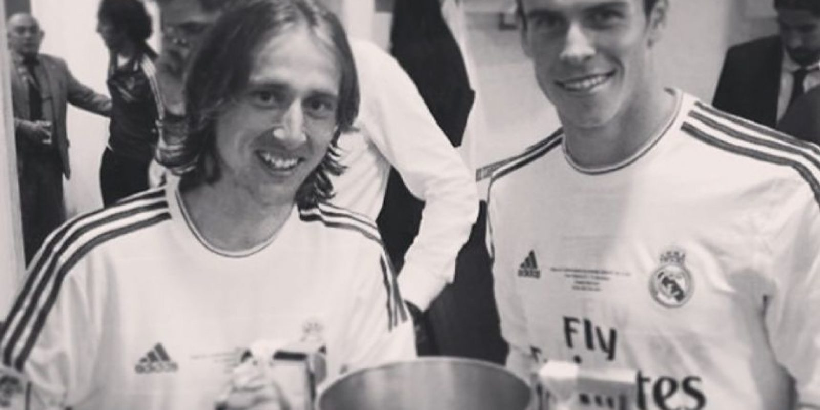 Luka Modrić y Gareth Bale Foto:instagram.com/garethbale11
