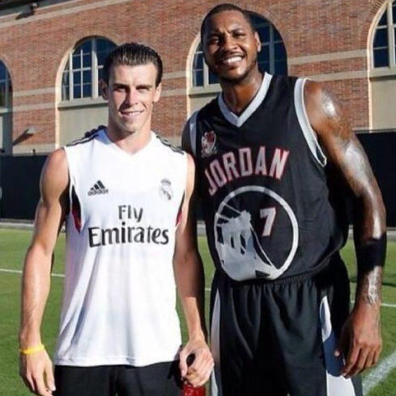 Bale y Carmelo Anthony Foto:instagram.com/garethbale11