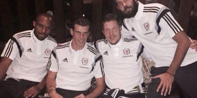 La Selección de Galés Foto:instagram.com/garethbale11