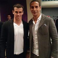 Bale y Rio Ferdinand Foto:instagram.com/garethbale11
