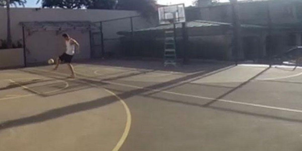 VIDEO: ¡Espectacular! Así encesta Gareth Bale con los pies