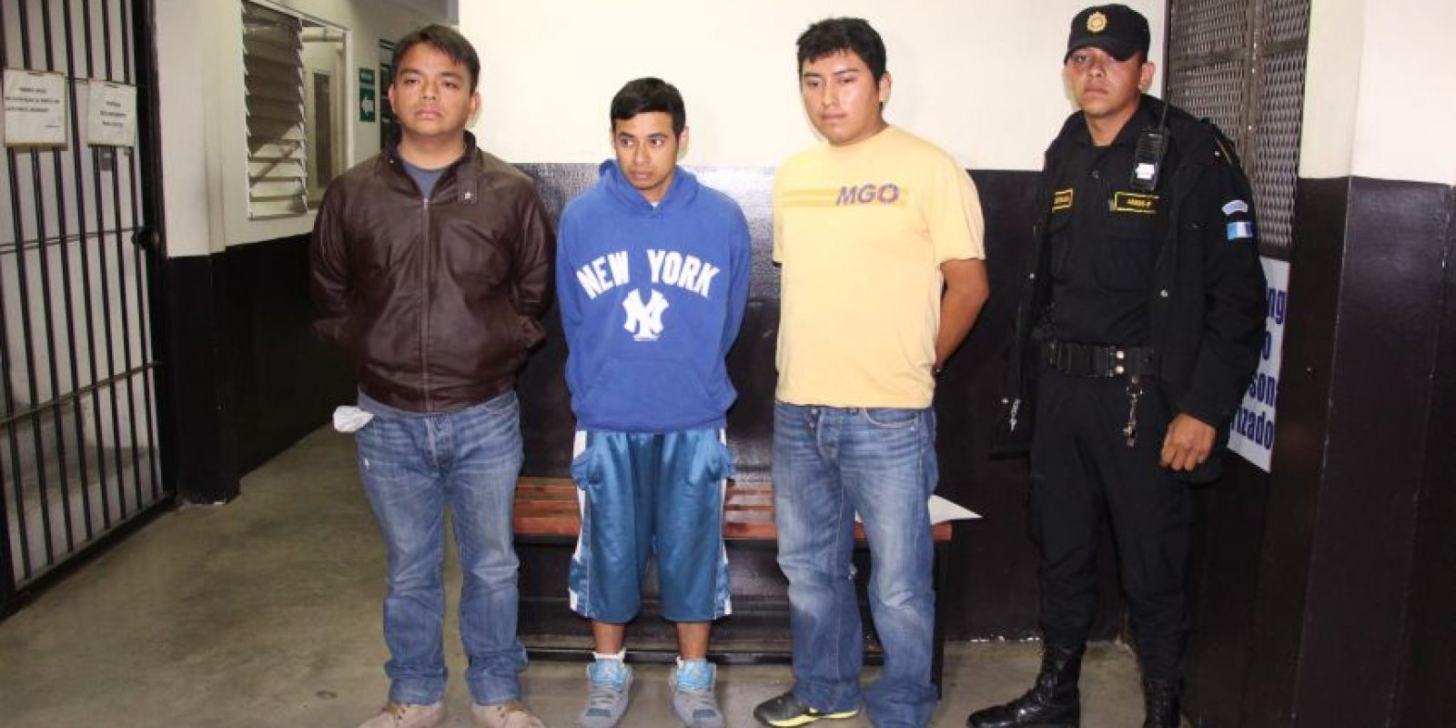 Las capturas se han realizado en la zona 1 de Mixco. Foto:PNC