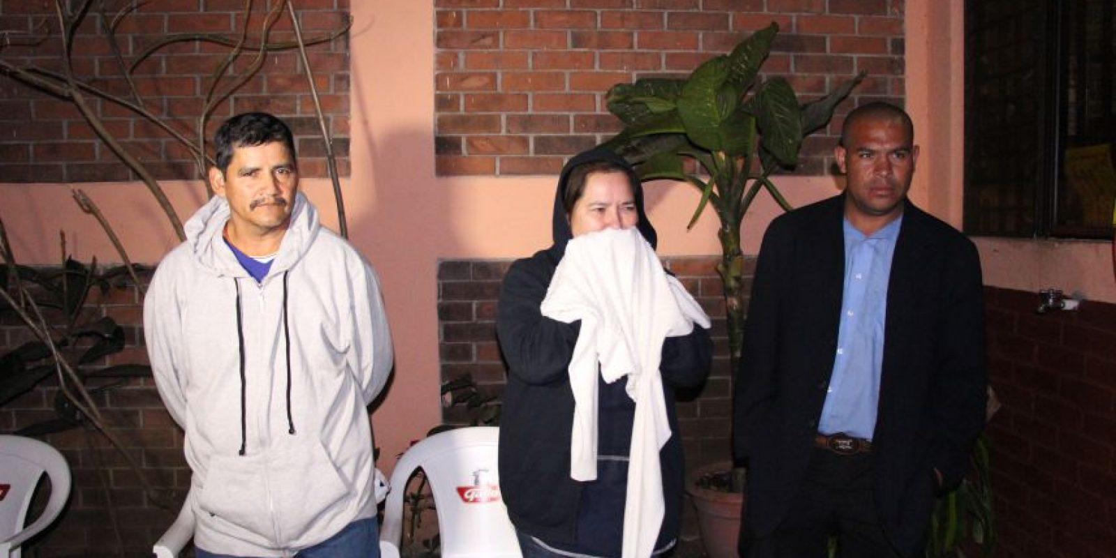 Los primos fueron detenidos. Foto:PNC
