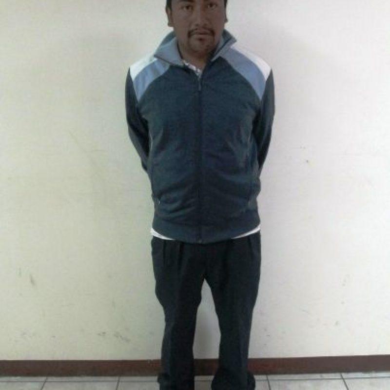 Cornelio Cabrera González de 27 años es capturado en la zona 1 de Quetzaltenango por la muerte de una niña. Foto:PNC