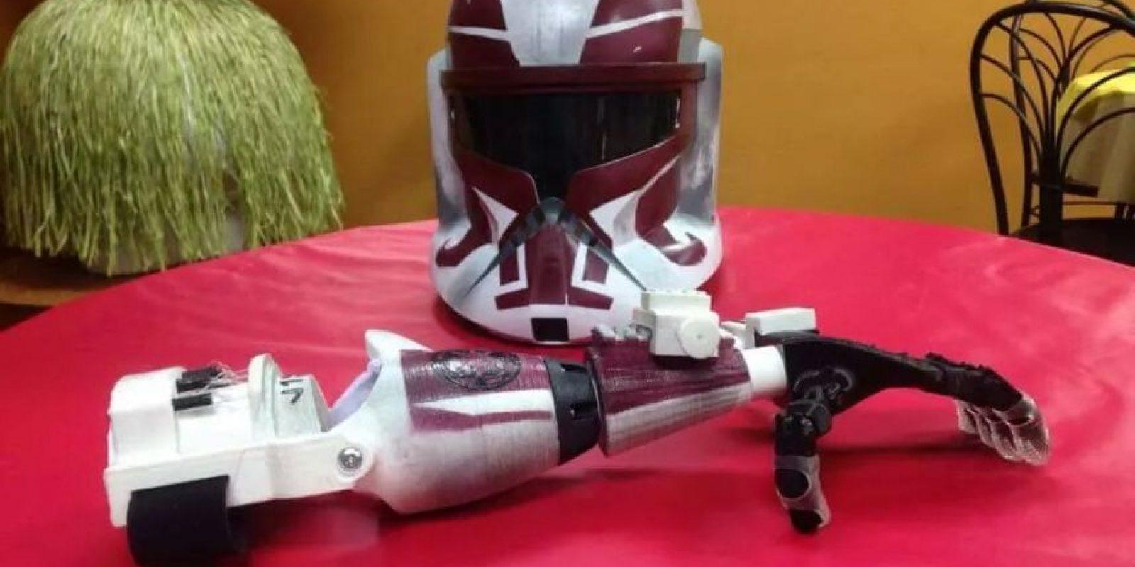 """Prótesis al estilo """"Star Wars"""" Foto:ga501st.com"""