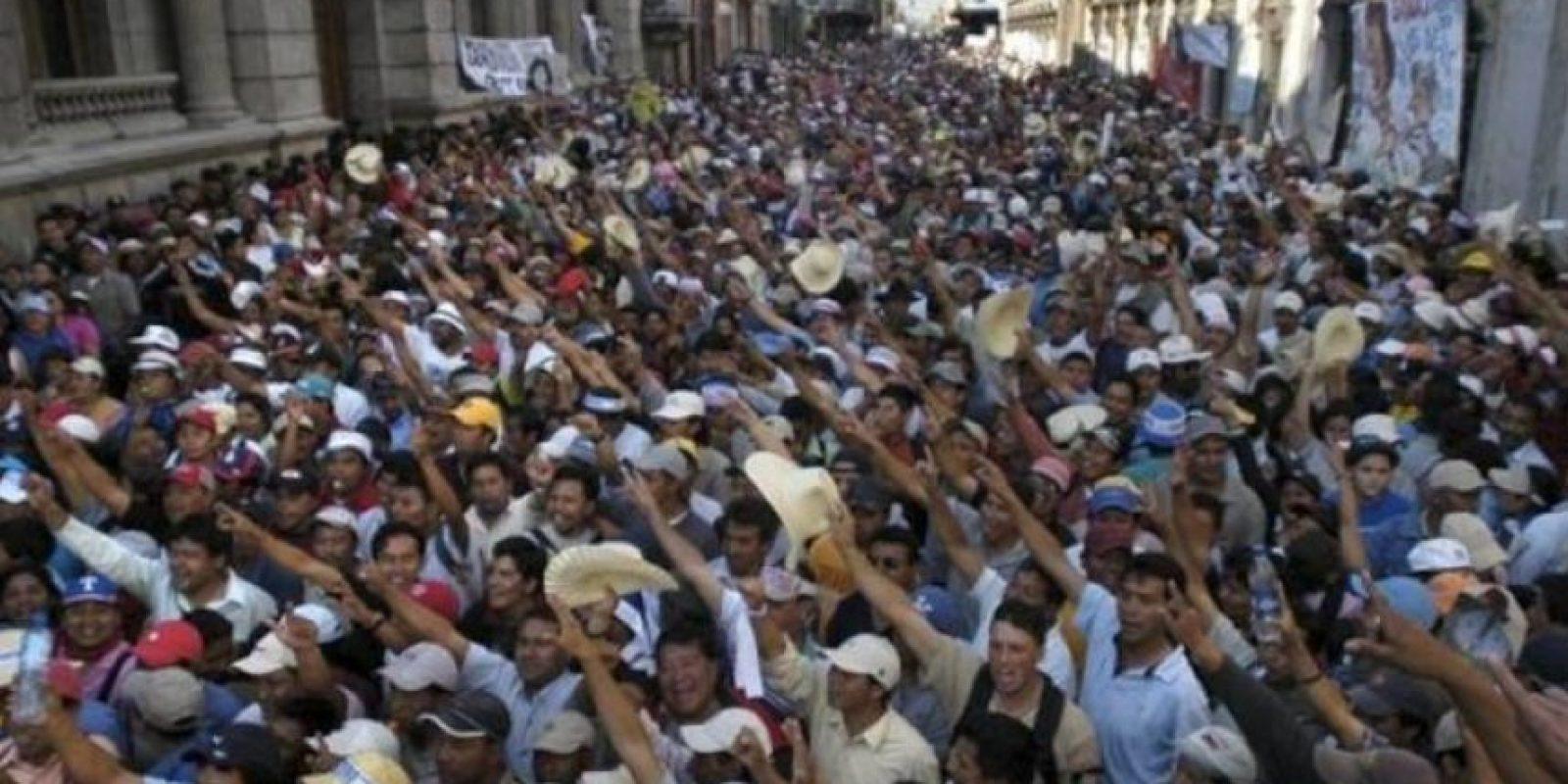 Protestas de 2014. Foto:Publinews