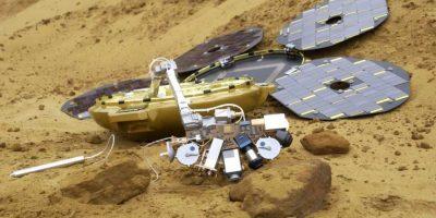 Una sonda espacial que desapareció en 2003 fue encontrada en el cuarto planeta del sistema solar mientras un satélite hacia un reconocimiento del planeta rojo