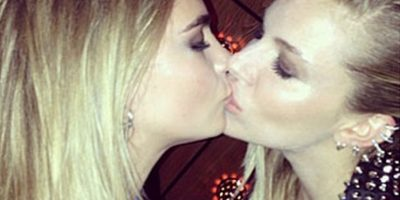 Cara Delevingne y Sienna Miller Foto:Instagram Cara Delevingne