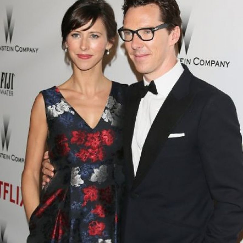 No se queda atrás Sophie Hunter, futura esposa del actor británico Benedict Cumberbatch Foto: Getty Images