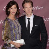"""La dramaturga anunció su compromiso con el famosísimo actor británico en la sección de compromisos del """"Times"""". También confirmó su embarazo. Foto:Getty Images"""