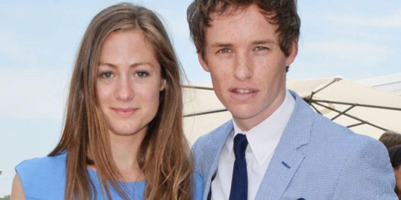 """Ella es Hannah Bagshawe, esposa del actor Eddie Redmayne, ganador del """"Globo de Oro"""", como Mejor Actor por su interpretación de Stephen Hawking en """"La Teoría del Todo"""" Foto:Getty Images"""