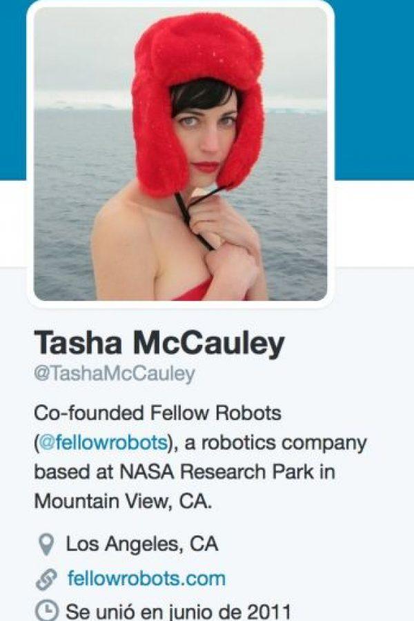 Es directora de desarrollo de negocio en Geosim, una compañía de tecnología geoespacial. Es copropietaria de la misma. Foto:Twitter/TashaMcCauley