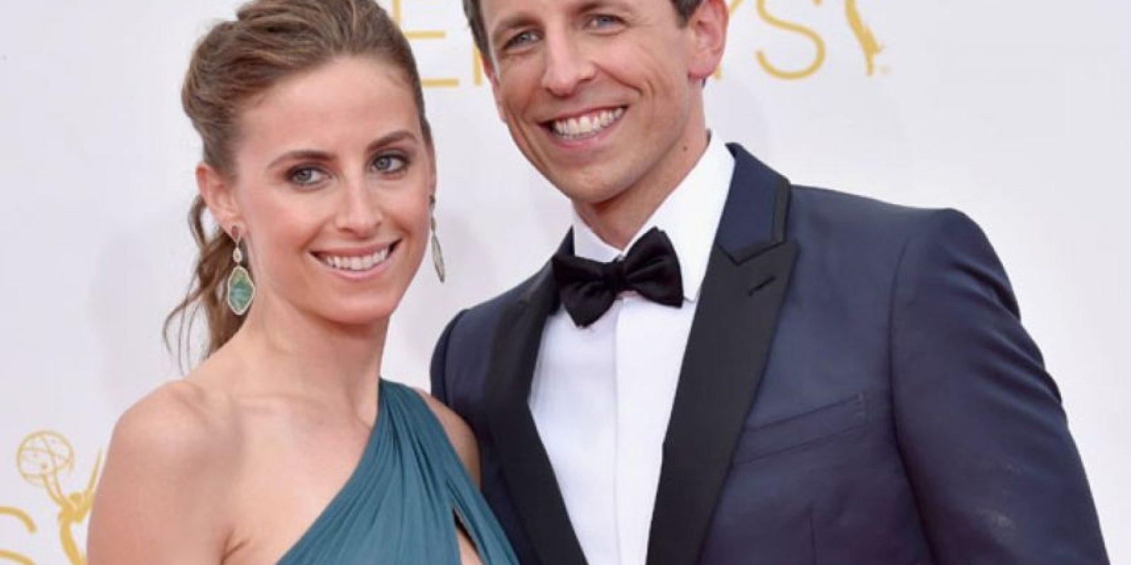 La esposa del famoso comediante y presentador Seth Meyers es Alexi Ashe, abogada de derechos humanos y asistente del Fiscal del distrito de Brooklyn. Foto:Getty Images