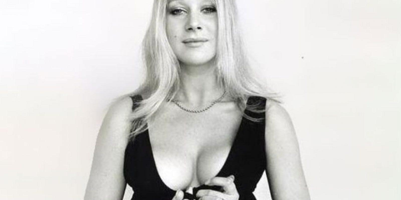 Esta provocativa joven llegó a convertirse en una actriz británica importante. Foto:BBC