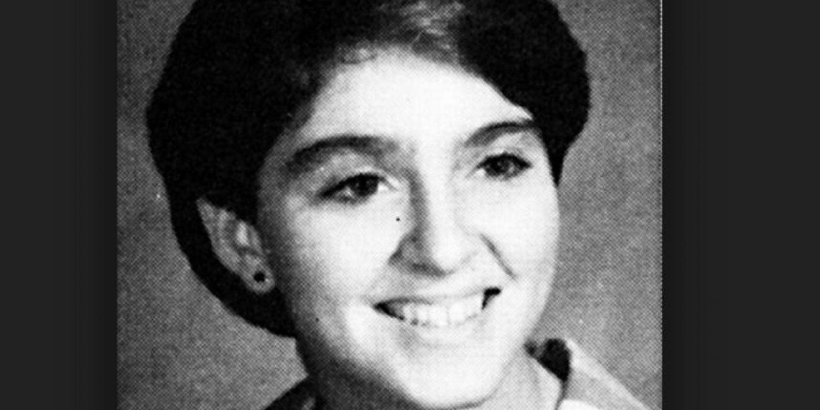 Madonna no era la rubia exuberante y sensual de la escuela Foto:Fanpop