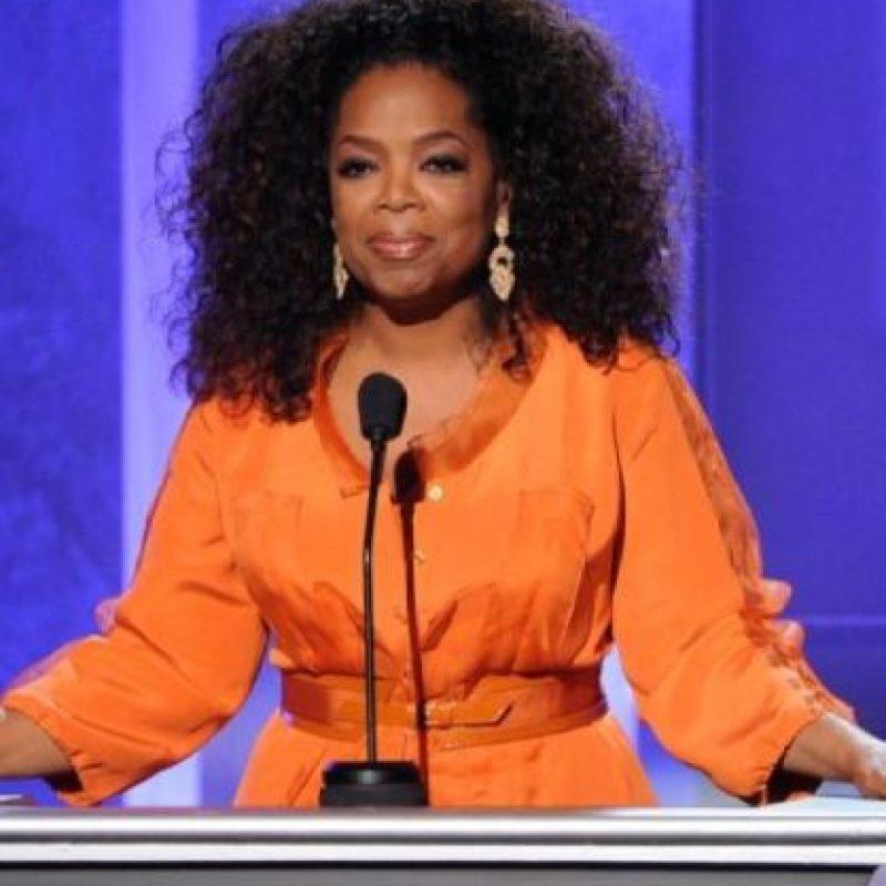 Oprah Winfrey: Una persona de su familia abusó de ella cuando tenía sólo nueve años. Foto:Getty Images