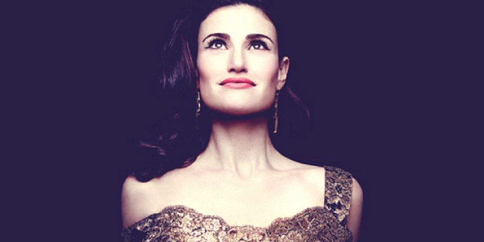 """Desde 2010 interpreta de forma ocasional el papel de Shelby Corcoran en la exitosa serie de televisión musical """"Glee"""" Foto:Facebook Idina Menzel"""