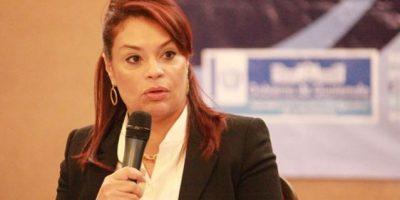Baldetti asegura que no ha escuchado audio de diputada oficialista