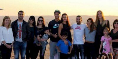La última foto en la que aparecen juntos Irina y Cristiano es del 25 de diciembre de 2014. Foto:instagram.com/cristiano