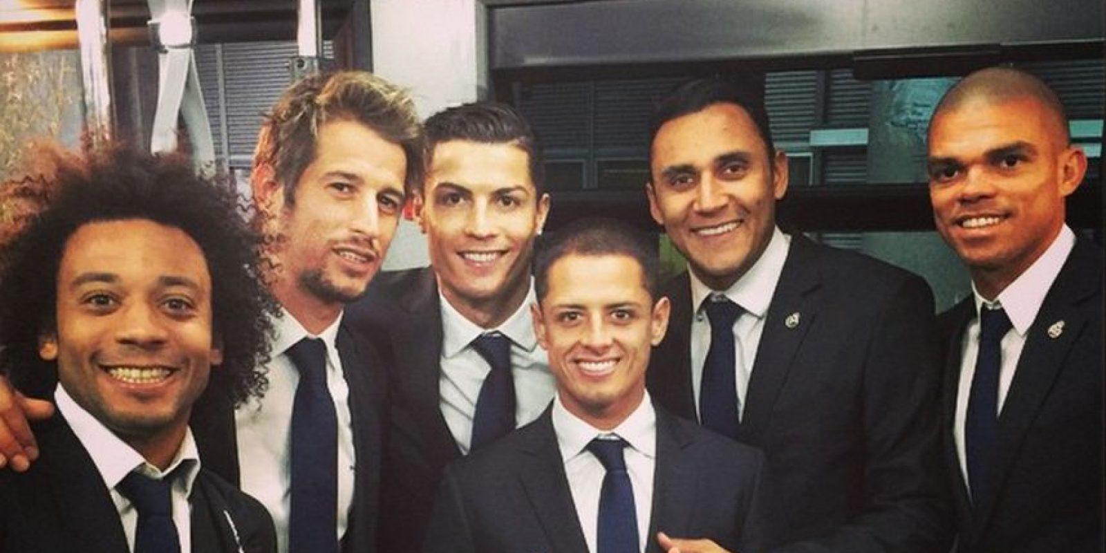Foto:Instagram Javier Hernández