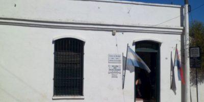 Una mujer se suicidó en el lugar y sigue allí. Foto:Gualeguaychu en Foco