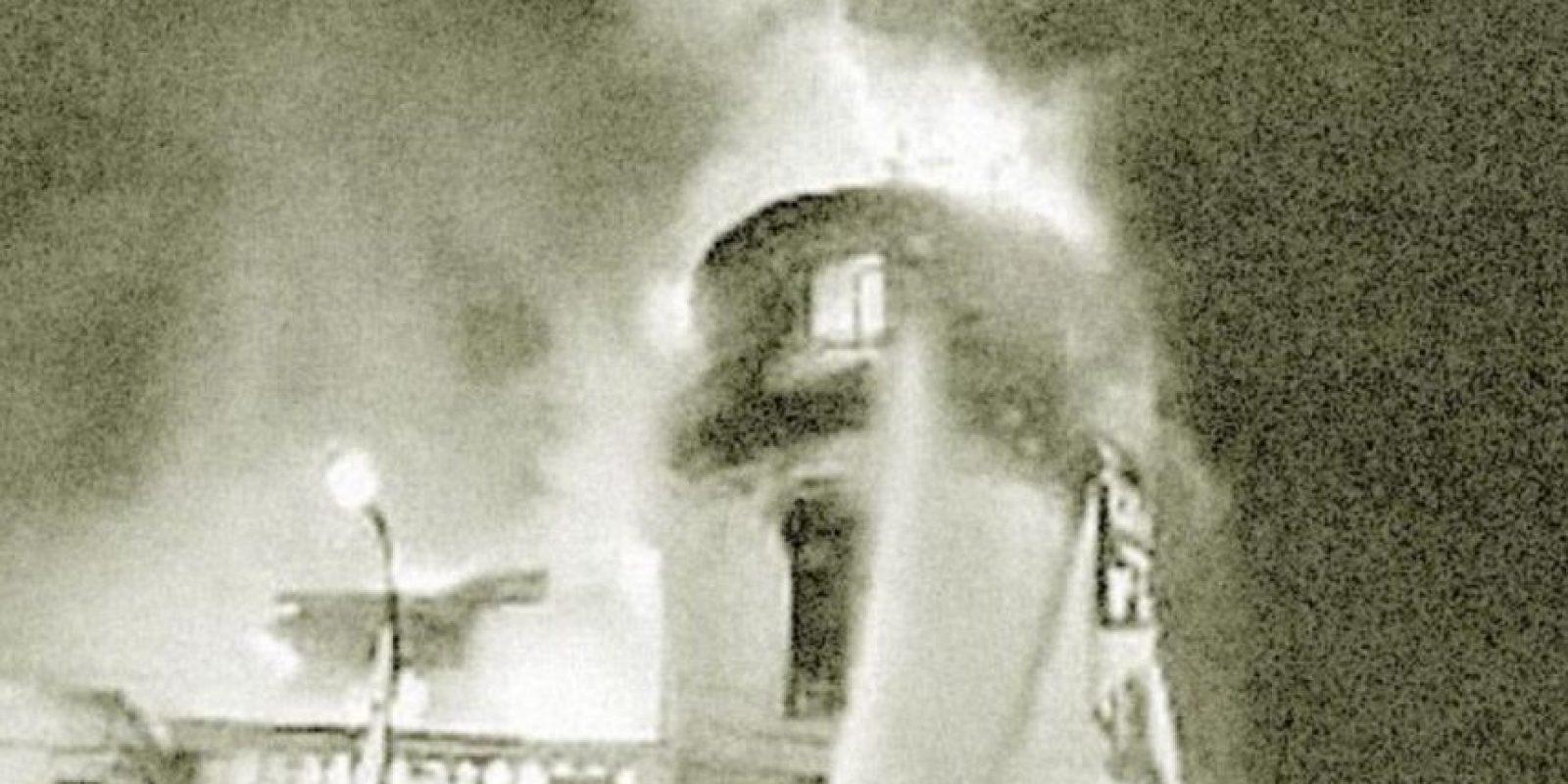 Se escuchaban crujidos y ruidos Foto:Prensa /Urbatorium