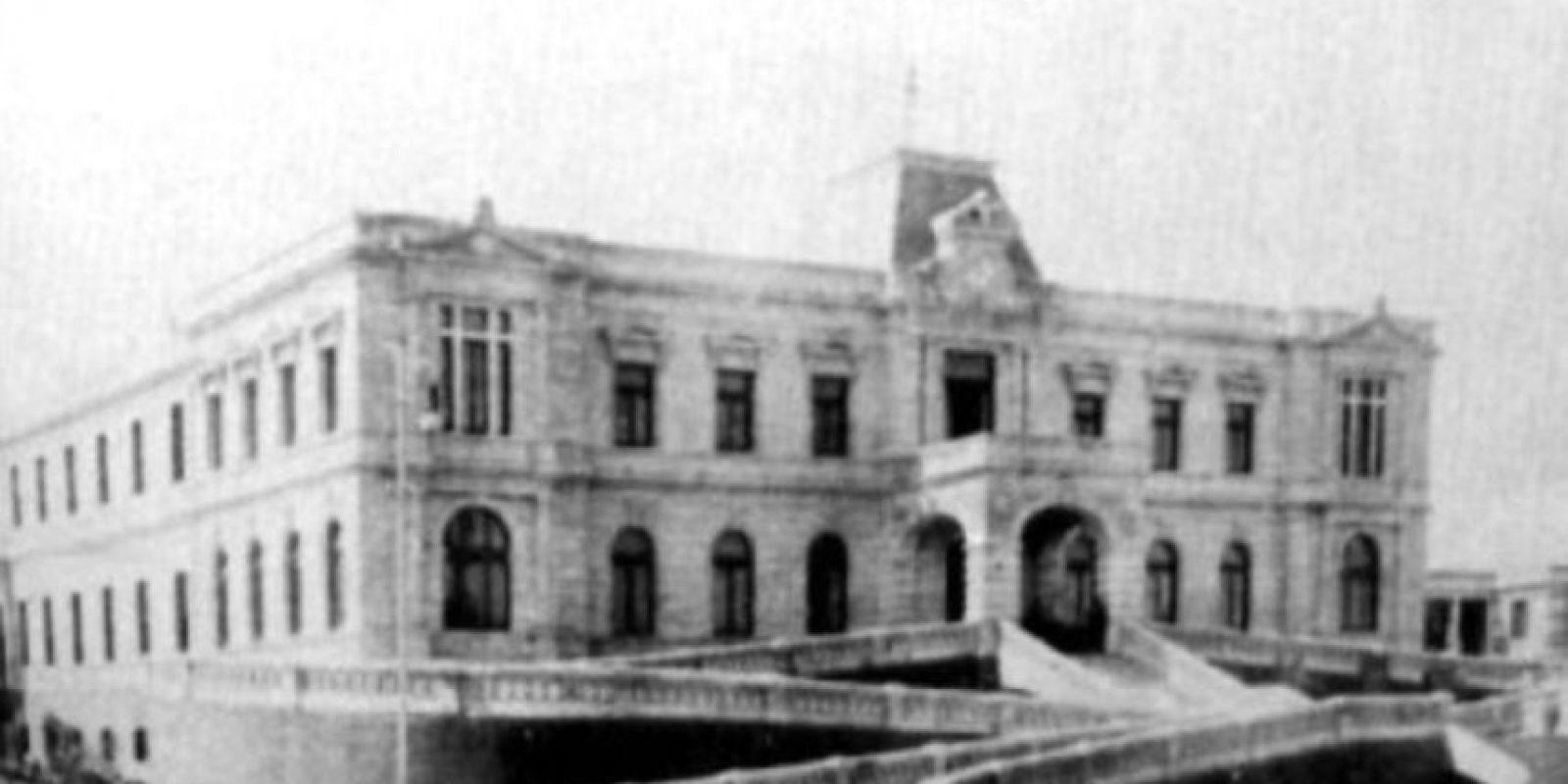 Hospital La Castañeda (México) Foto:Wikipedia