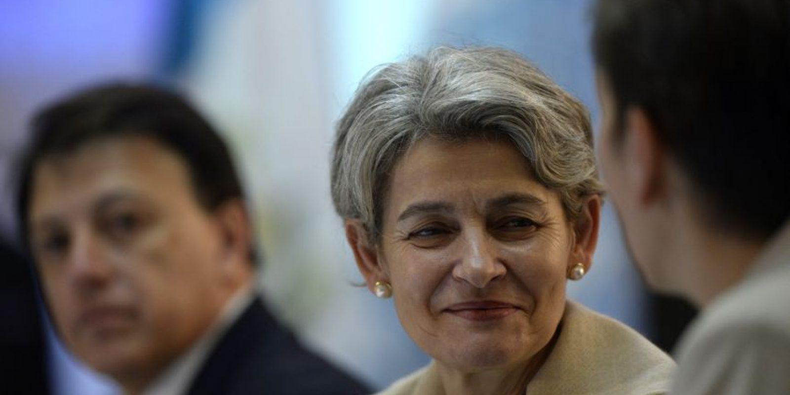 Bokova se encuenta en el país. Foto:AFP